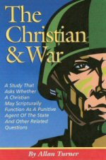 The Book, The Christian & War, Published Book Cover By Allanita Press Publishing